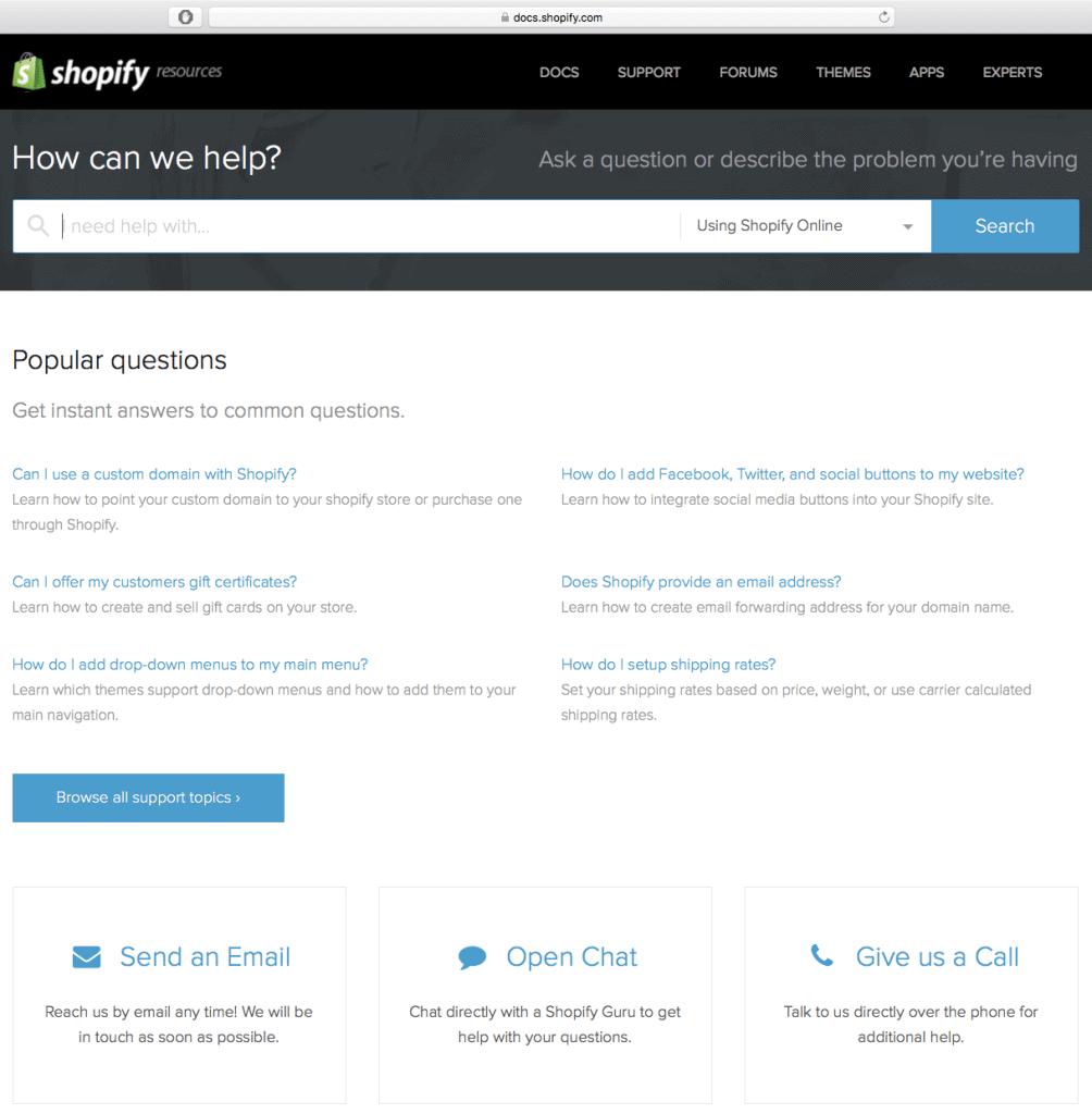 shopify-support-screenshot
