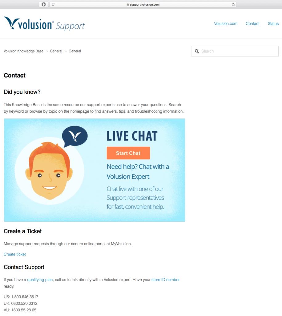 volusion-support-screenshot