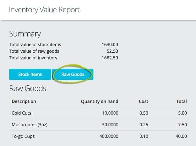 Shopkeep POS screenshot