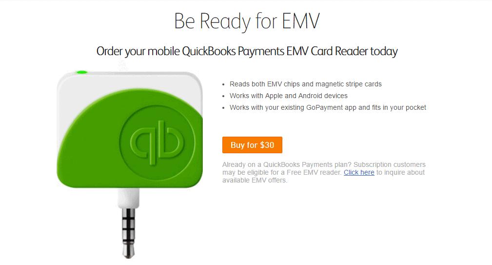 Intuit GoPayment EMV Reader