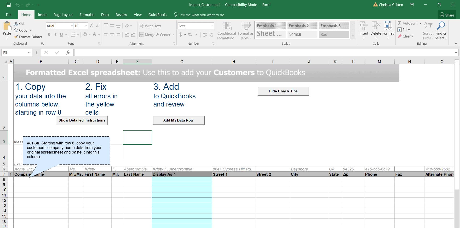 How To Import Customers Into QuickBooks Pro | Merchant Maverick
