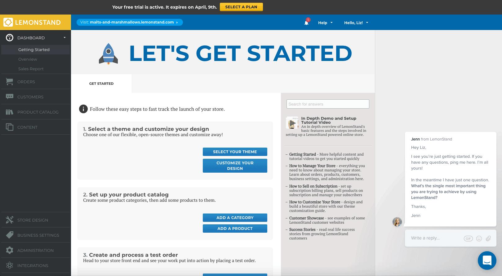 Online dating subscription lemonstand