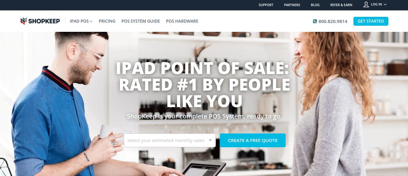 Shopkeep - iPad Point Of Sale