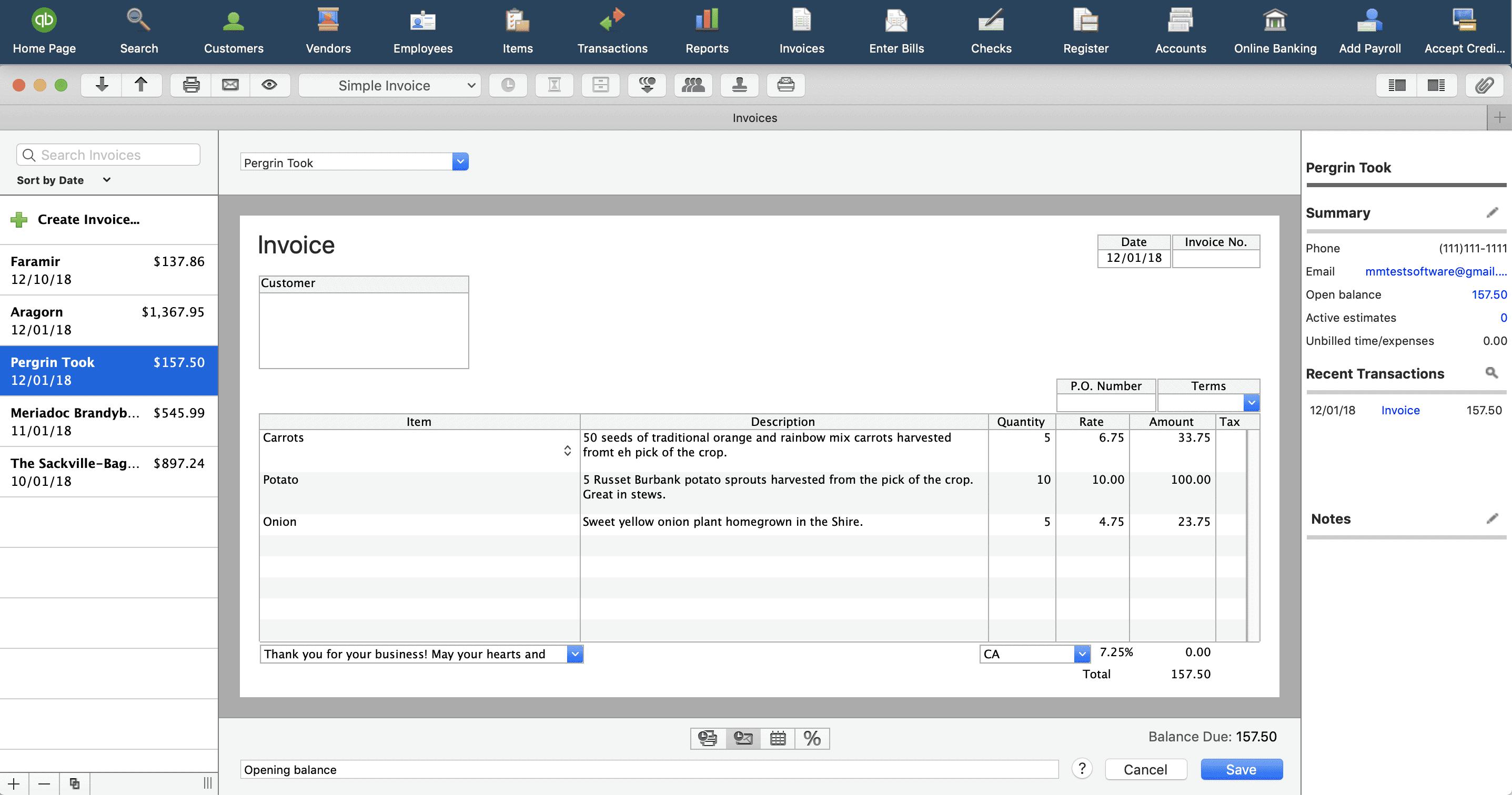 QuickBooks Mac Review