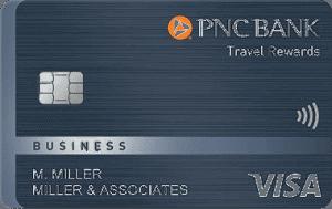 PNC Travel Rewards Visa Business card