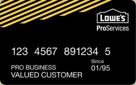 Lowe's Accounts Receivable