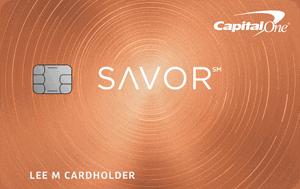 Savor Rewards from Capital One