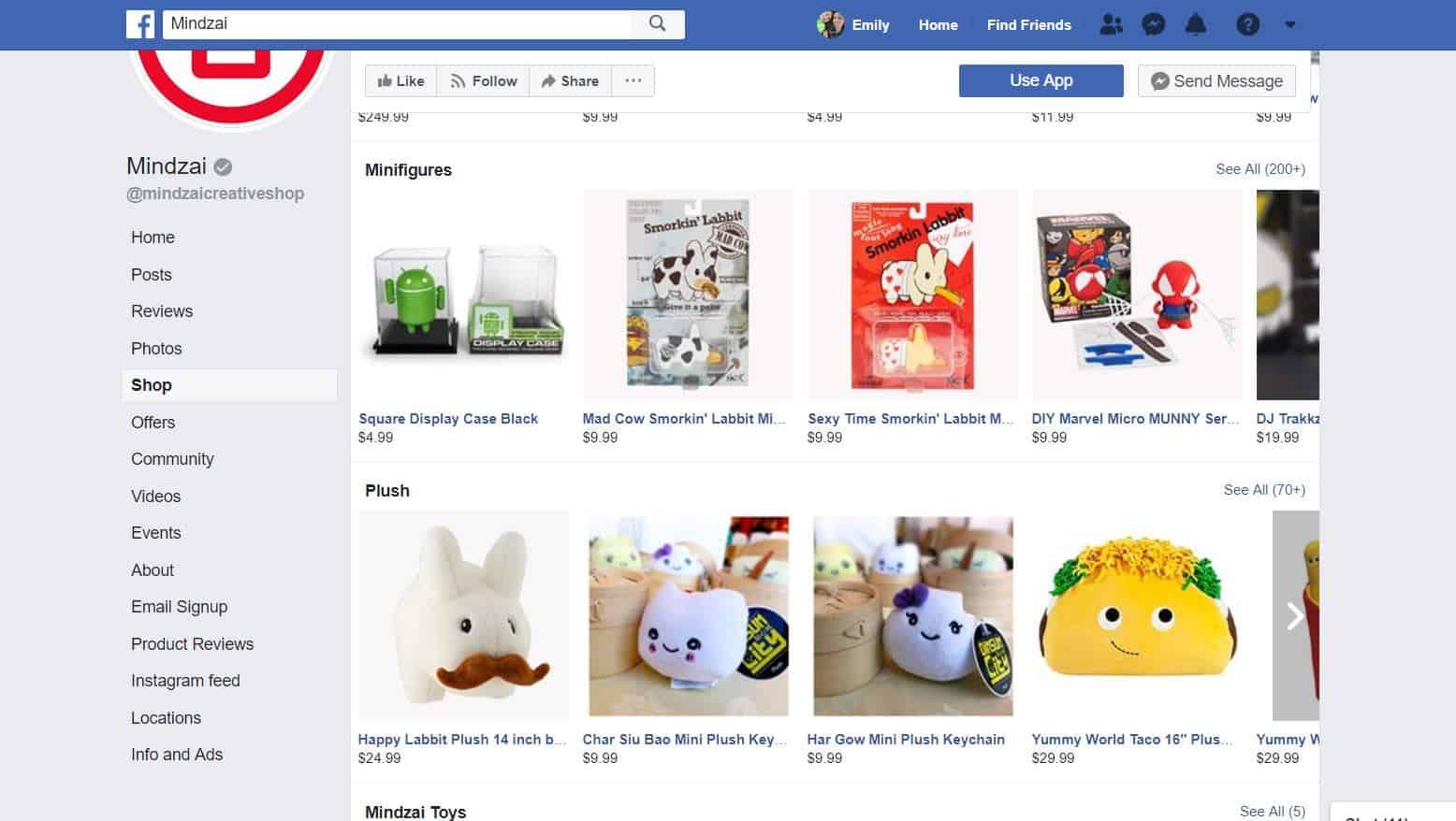 Shopify Facebook