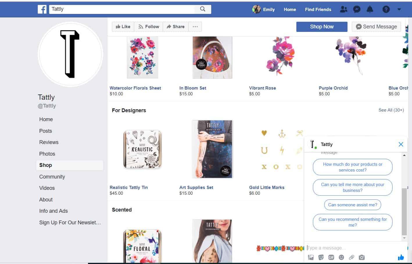 Shopify Facebook Shops
