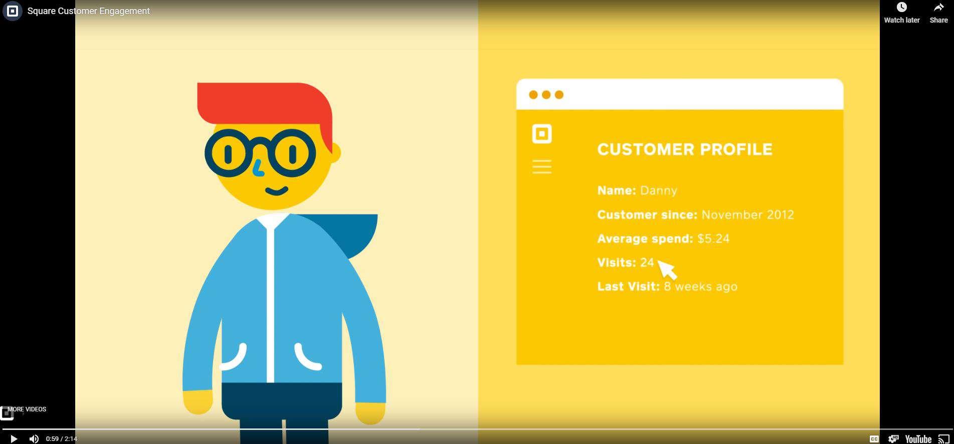 Square Customer Profile
