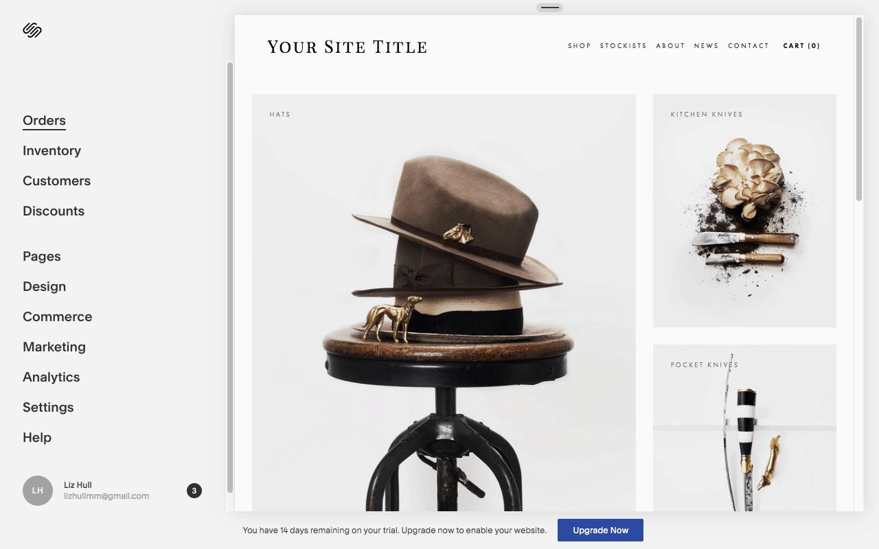 squarespace store customizations