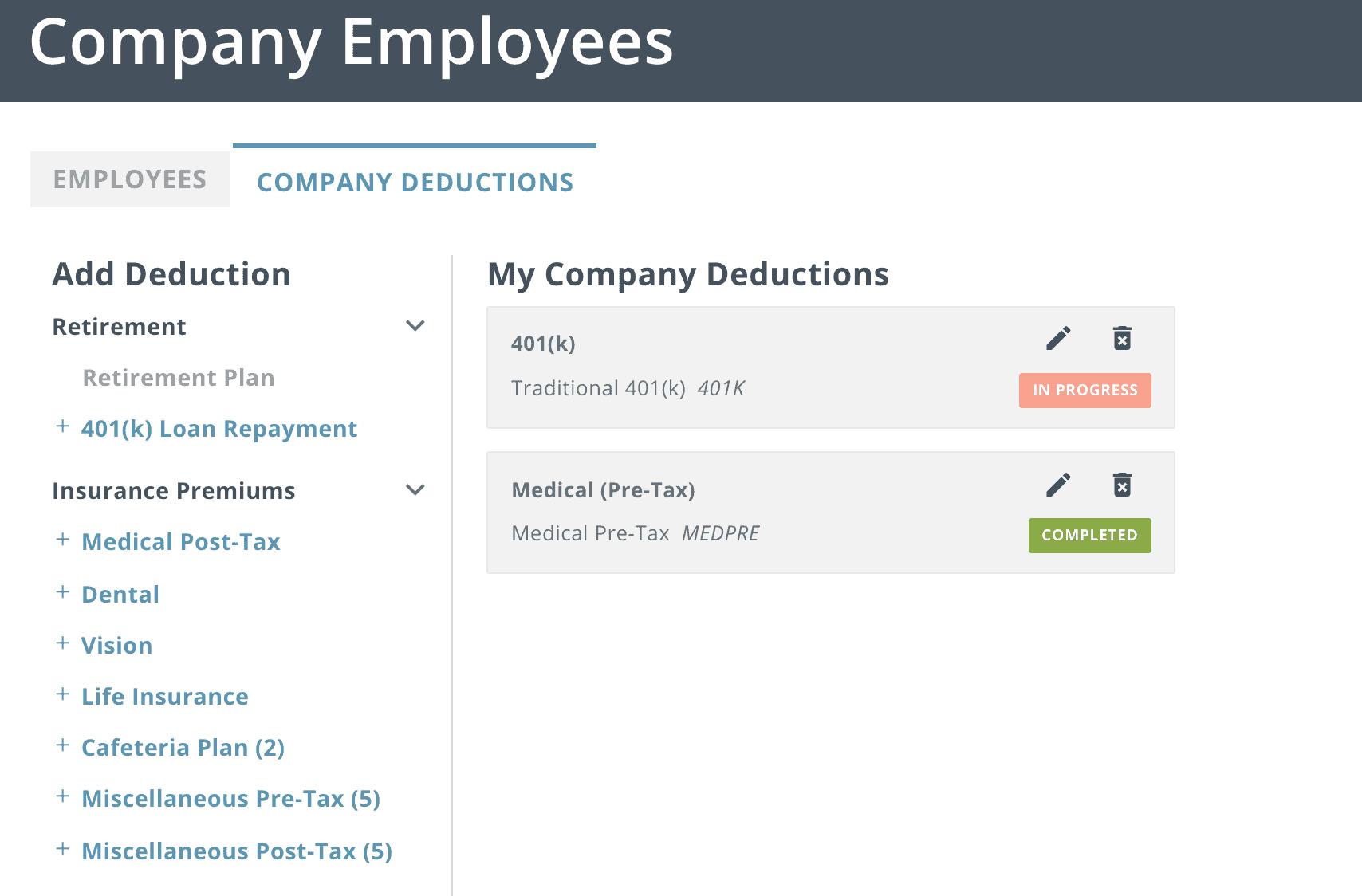 SurePayroll Employee Dashboard