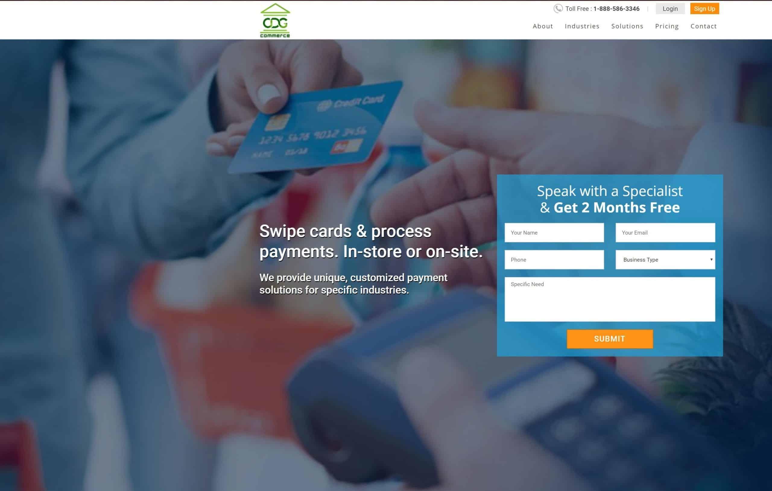 CDGCommerce screenshot (new logo)
