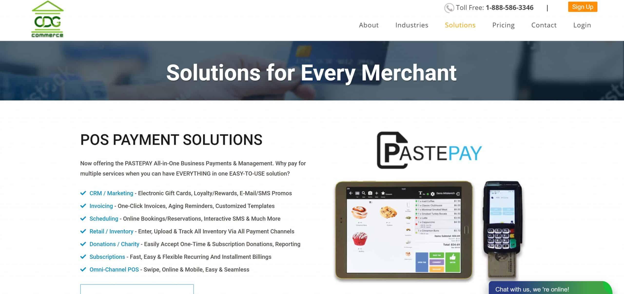 CDGcommerce screenshot