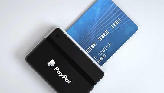 Free credit card reader PayPal