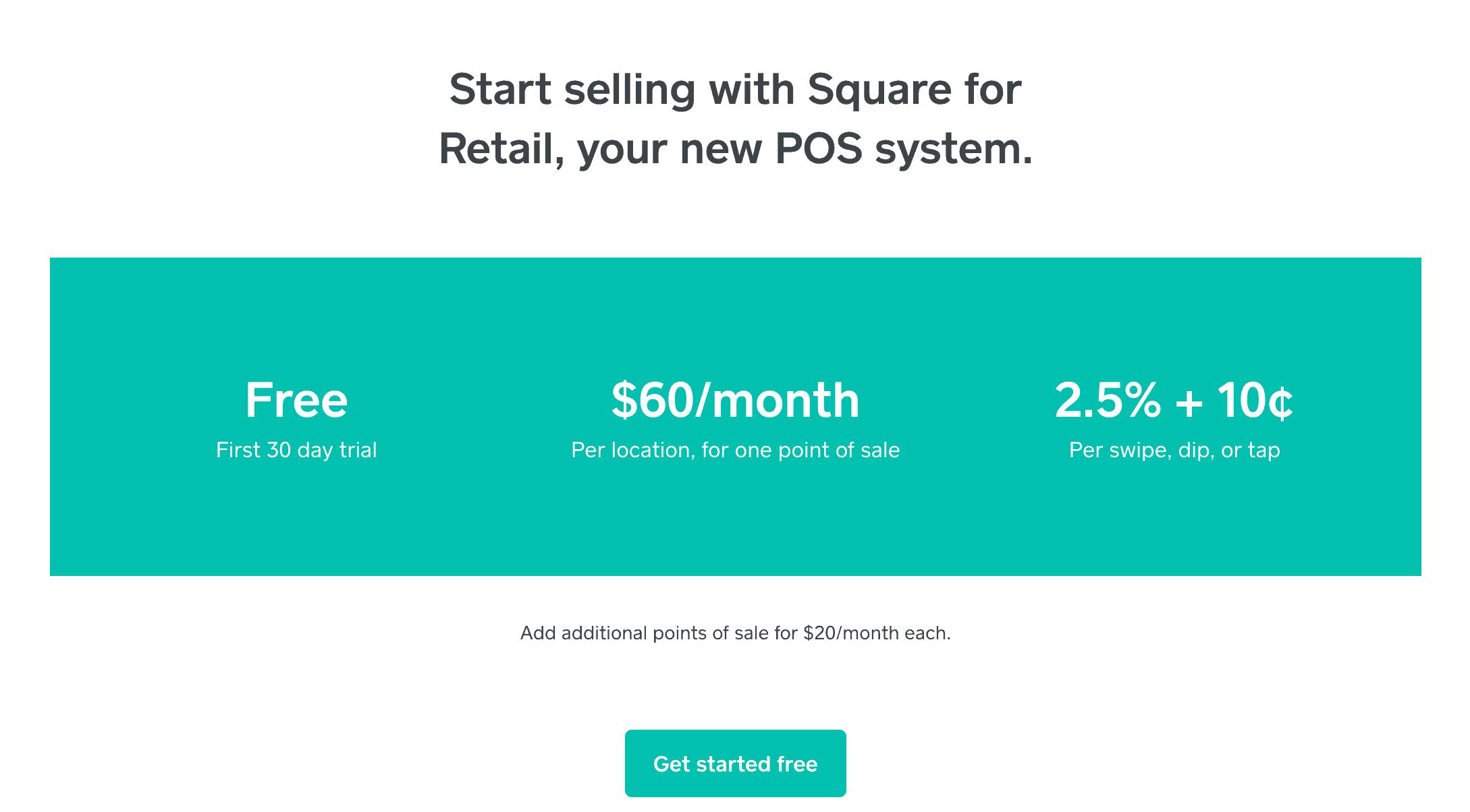 Square VS Shopventory