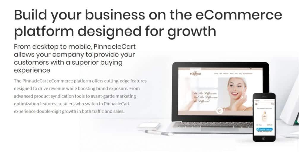 PinnacleCart ecommerce store