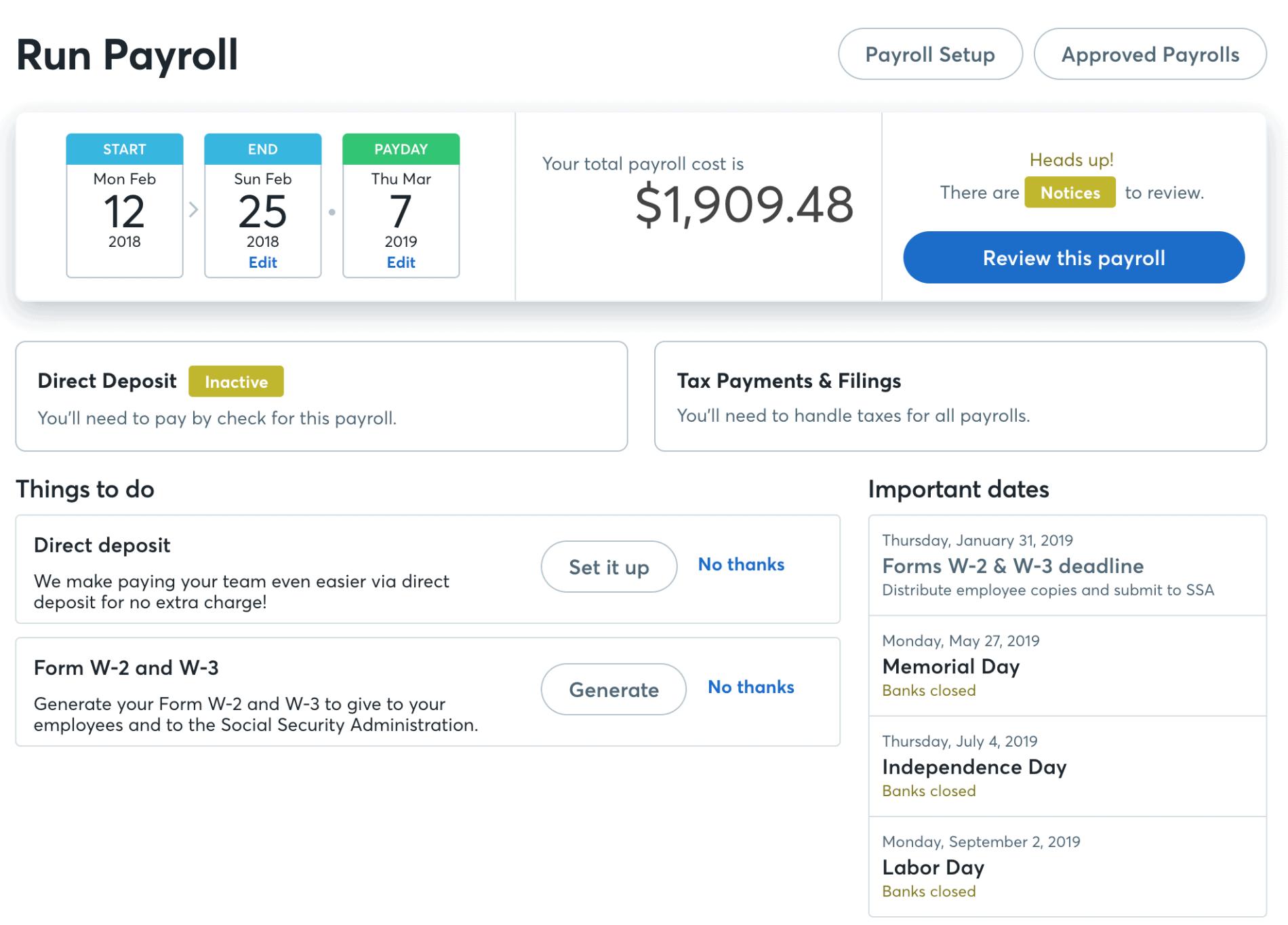 Wave payroll