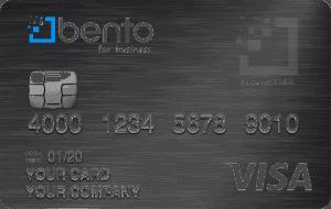 Bento for Business Visa debit card