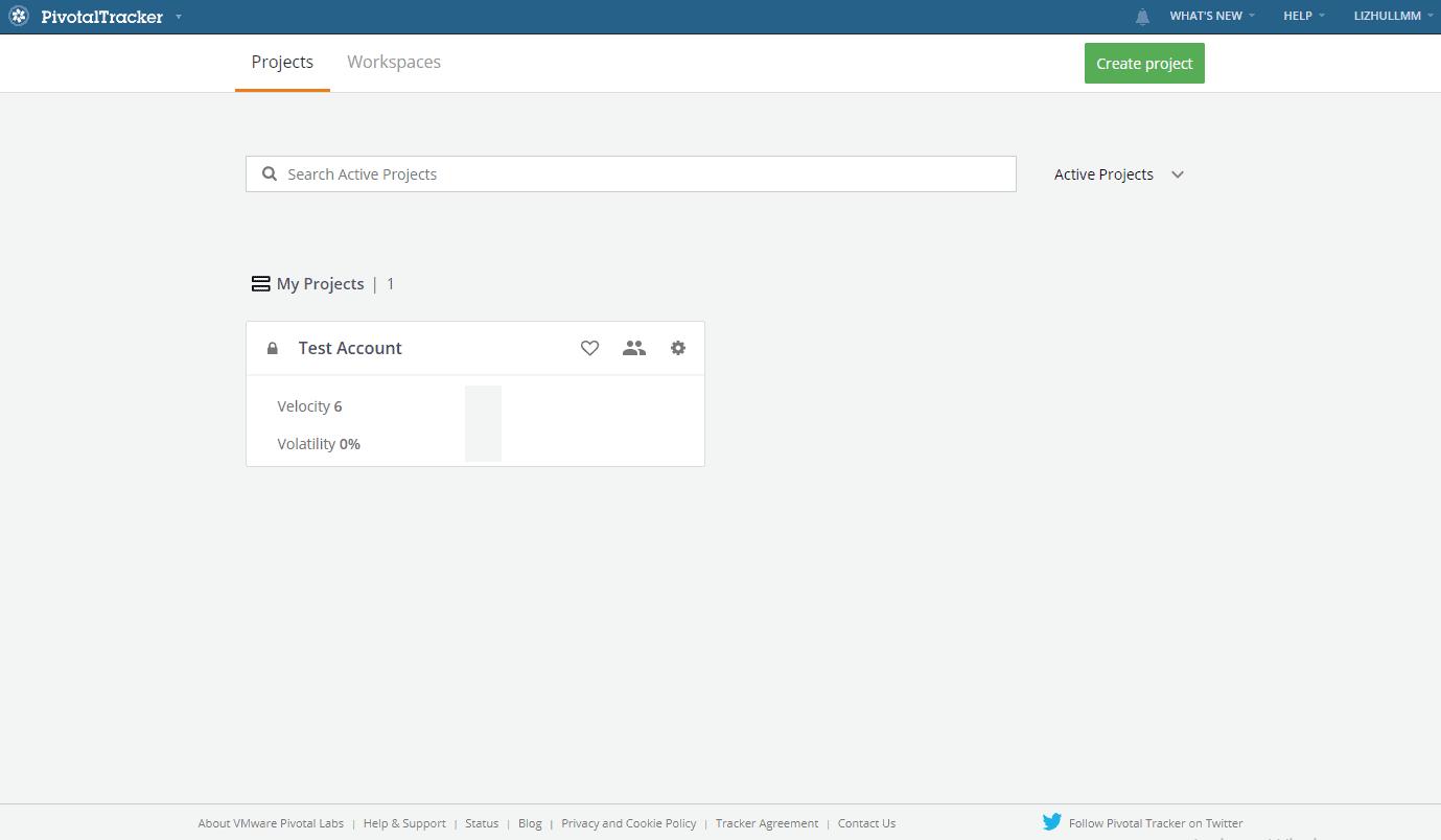 Pivotal Tracker Dashboard