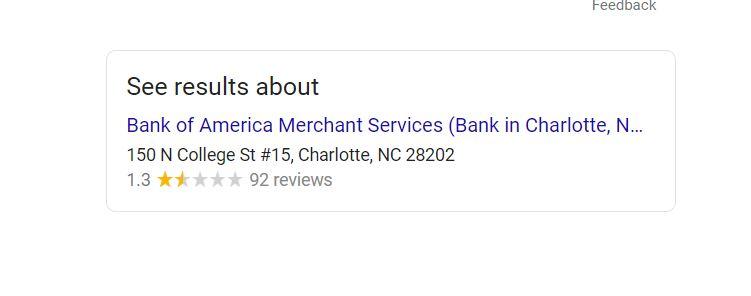 BAMS google review
