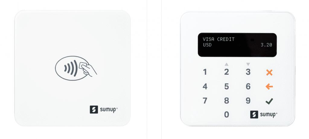 sumup lite and sumup plus mobile credit card readers