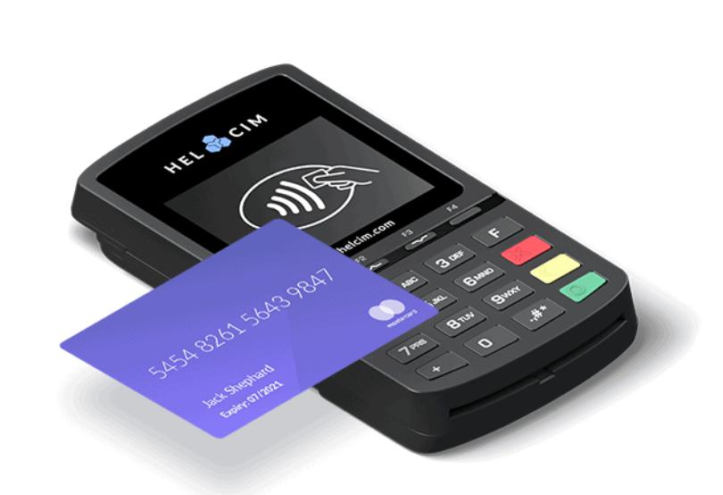 Helcim wireless credit card reader