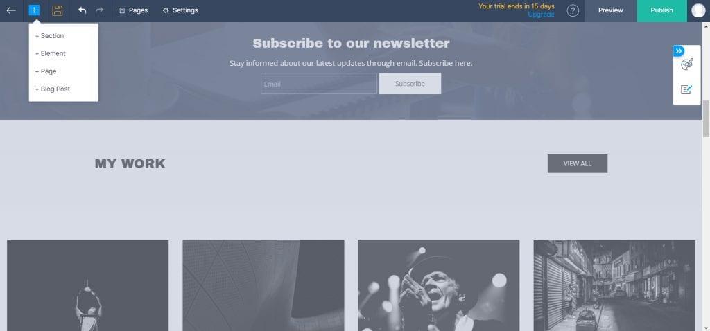 zoho sites review
