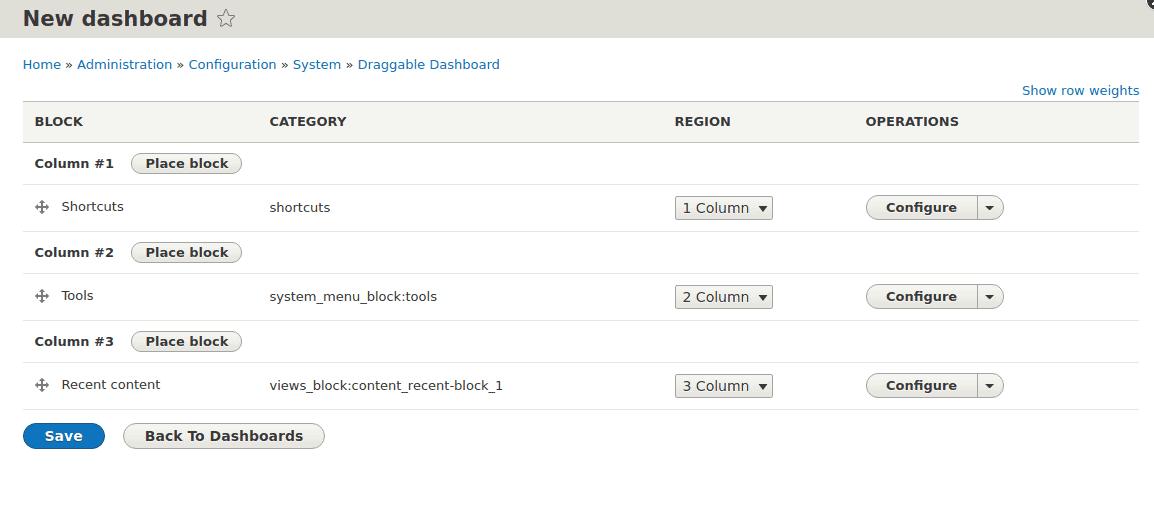 Screengrab of Drupal site navigation
