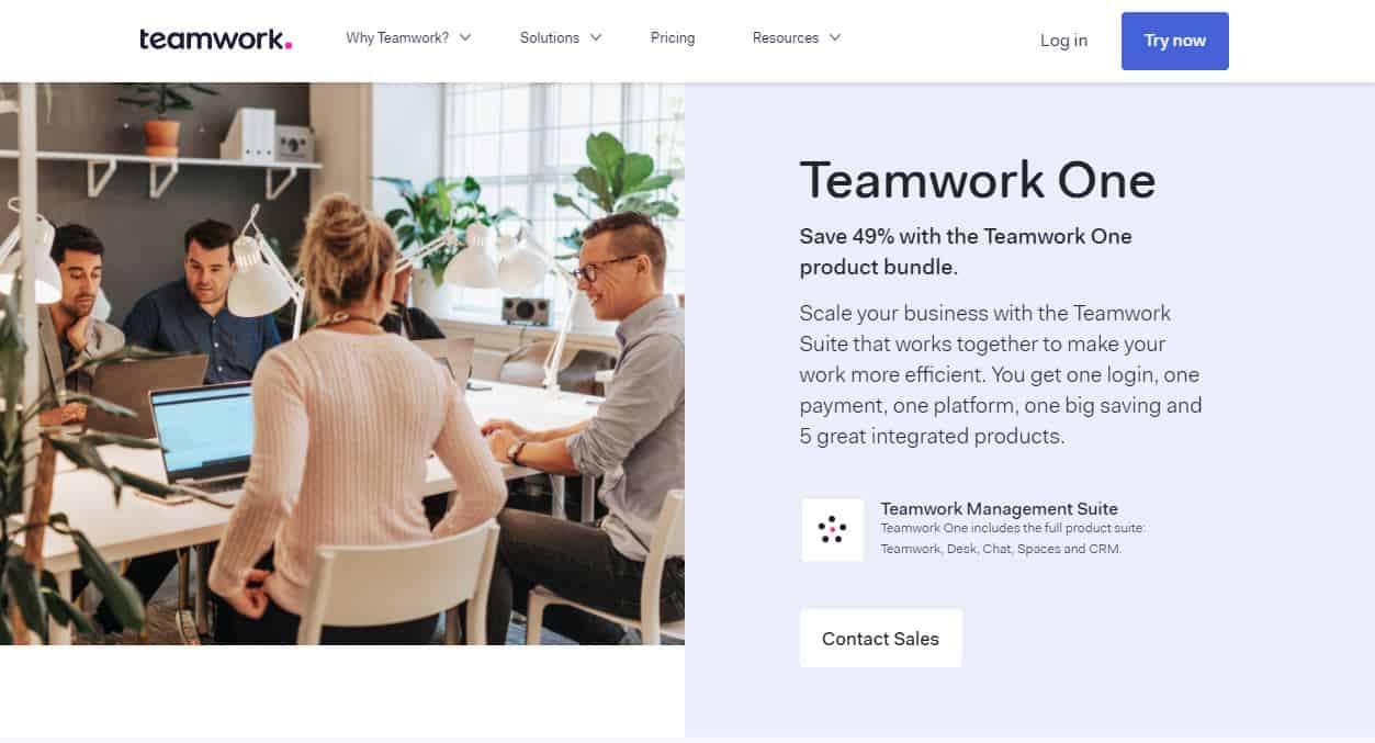 teamwork projects sale 2020