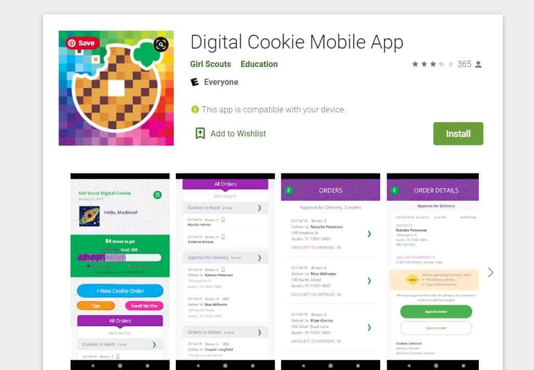 Digital Cookie Girl Scout