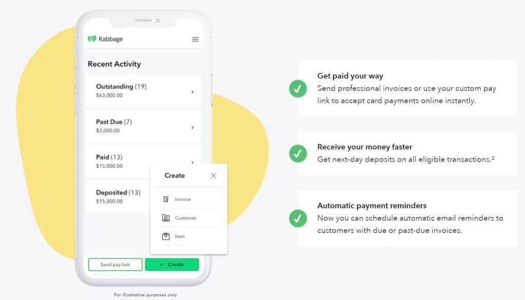 Kabbage Payments Screenshot
